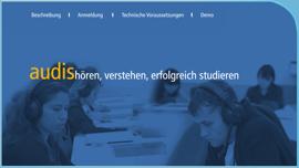 Audis – hören, verstehen, erfolgreich studieren