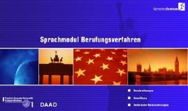 Sprachmodul Berufungsverfahren