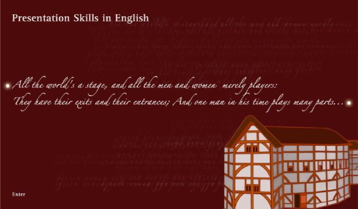 Presentation Skills in English