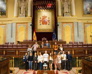 Gruppenbild Studienreise Madrid 2019